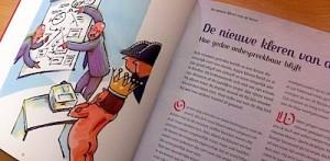 Sprookjesboek over gebruik van verhalen bij veranderingen in de organisatie.
