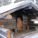 Bibberen in de sauna